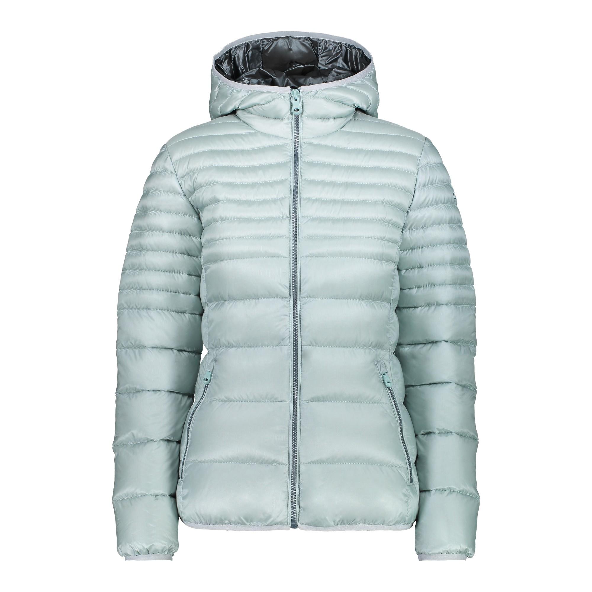 Femmes Veste Matelassée CMP Woman Jacket Fix Hood 38k1706