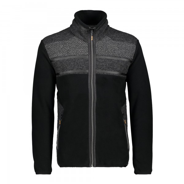 CMP Man Jacket - Herren Strick-Fleecejacke