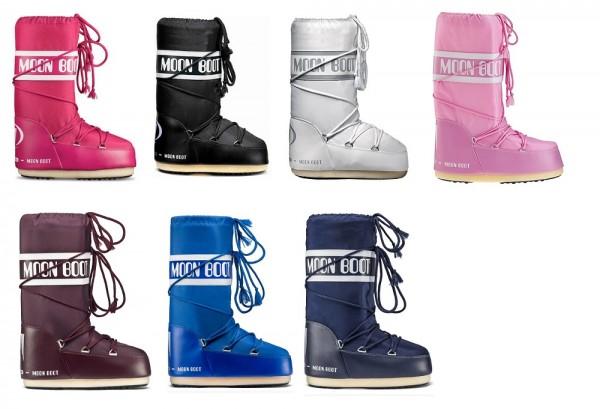 sports shoes ff4ef 1eabb ORIGINAL TECNICA MOON BOOTS Classic Nylon und CLASSIC PLUS - 1 Paar
