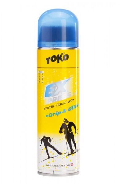 TOKO Express Grip & Glide flüssig Skiwachs 200ml (7,98€/100ml)