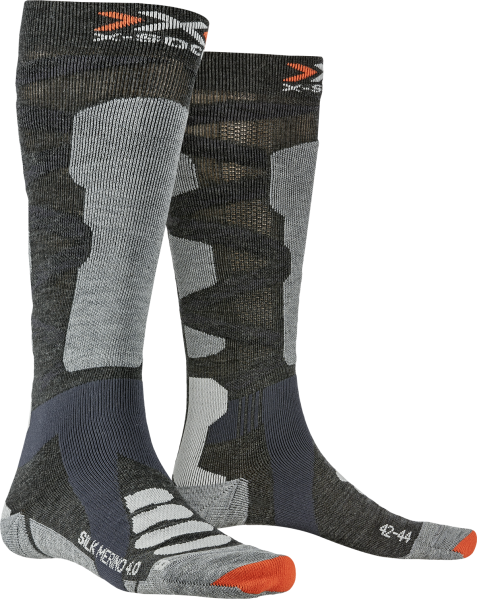 X-SOCKS® SKI SILK MERINO 4.0 - Skisocken für Herren