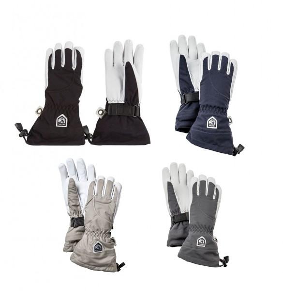 HESTRA Army Leather Heli Ski Fingerhandschuhe Damen 5-Finger