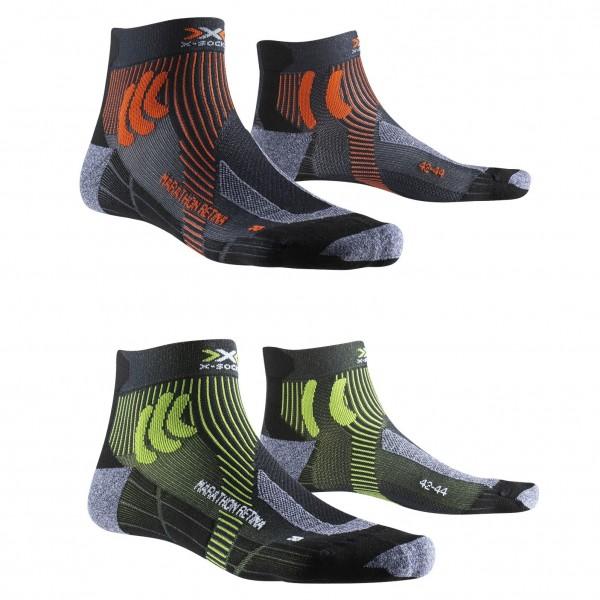 X-Socks MARATHON RETINA - Laufsocken für Herren - 2 Paar
