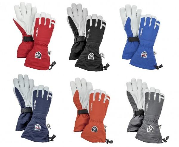 Hestra ARMY LEATHER HELI SKI - Fingerhandschuhe 5-Finger Unisex 1 Paar
