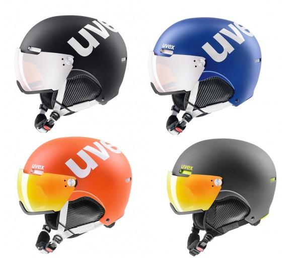 UVEX Hlmt 500 Visor Skihlem für Erwachsene