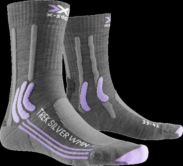 X-Socks TREK SILVER WOMEN - Wandersocken für Damen - 2 Paar