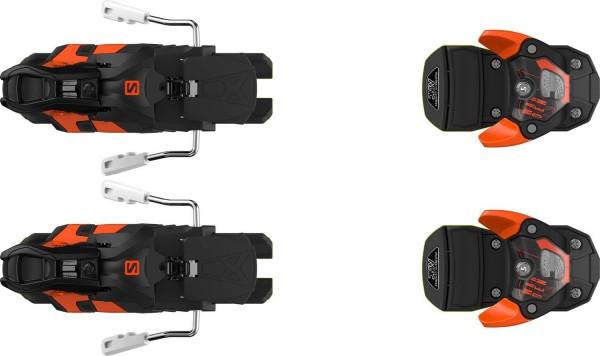 Salomon WARDEN MNC 13 Black/Orange - Skibindung - 1 Paar