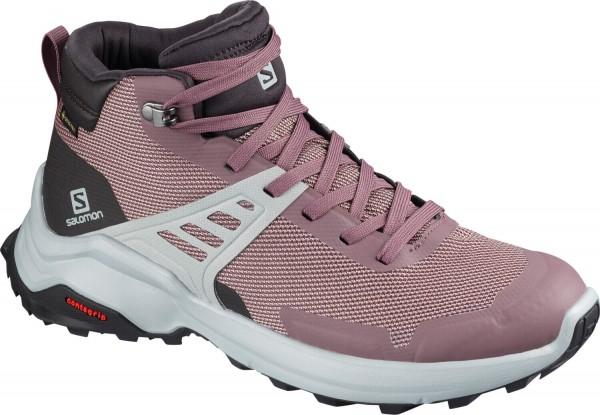 Salomon X RAISE MID GTX® W - Trekkingschuhe / Hikingschuhe für Damen
