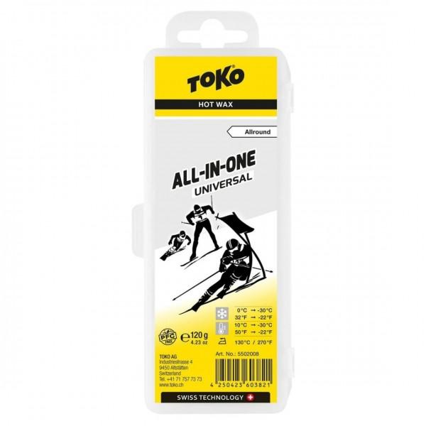 TOKO Skiwachs All-in-one Universal - 120g (Grundpreis:10,79€/100g)