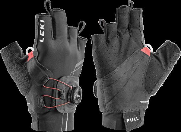 Leki NORDIC MOVE SHARK BOA® SHORT - Nordic Walking-Handschuhe