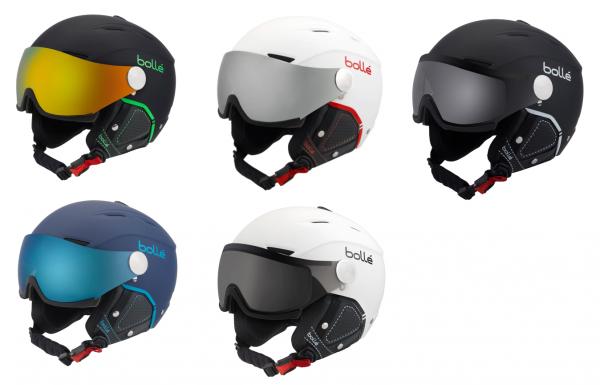 Bollé Backline Visor Premium - Skihelm mit Visier für Erwachsene