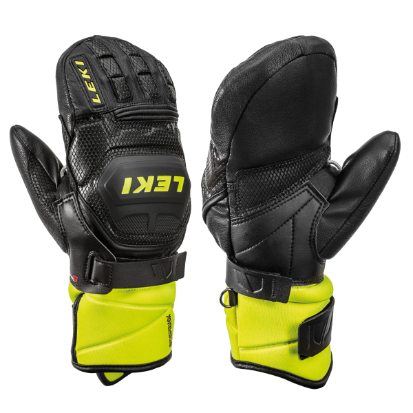 Leki WORLDCUP RACE FLEX S JUNIOR MITTEN - Skihandschuhe Fäustlinge für Kinder