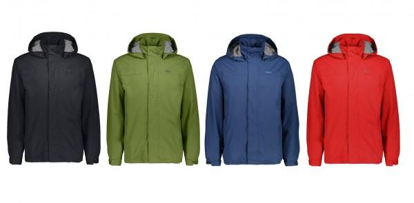 CMP Man Rain Jacket Button Hood - Herren Regenjacke