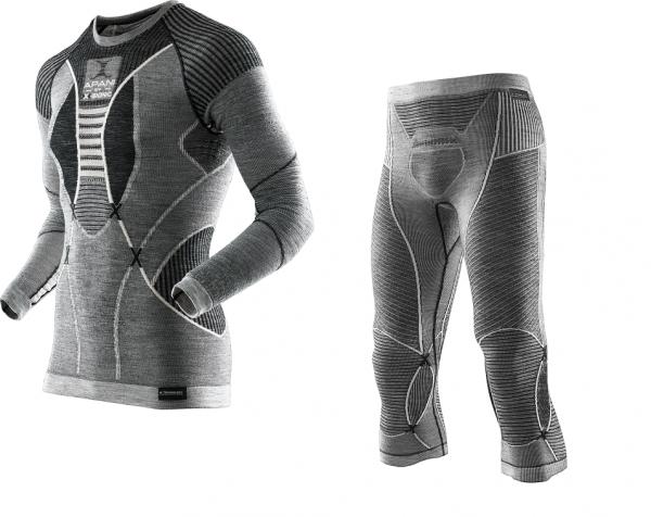X-Bionic® FASTFLOW Pants ODER Shirt für Herren - Apani® Merino