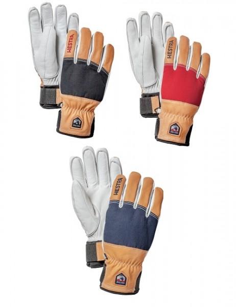 Hestra Army Leather Abisko 5-Fingerhandschuhe Unisex