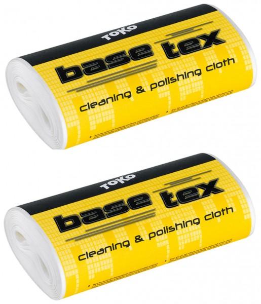 Toko BASE TEX (2er-Pack) - Spezialvlies für die Belagsreinigung