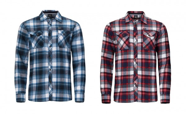 State of Elevenate Men's Cham Shirt - Herren Flanell-Karohemd