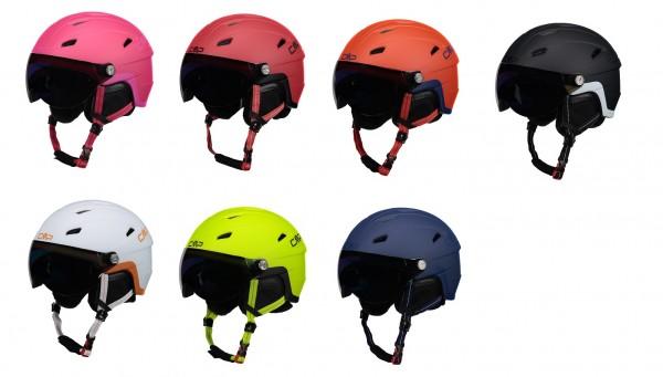 CMP WA-2 Ski Helmet with Visor - Unisex Visier-Skihelm