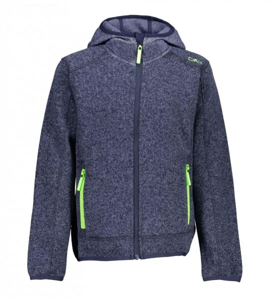 CMP Boy Fleece Jacket Fix Hood - Jungen Fleecejacke in versch. Farben