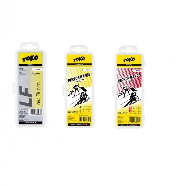 TOKO LF Hot Wax oder Performance Wax (120g) (Grundpreis: 100g/21,67€)