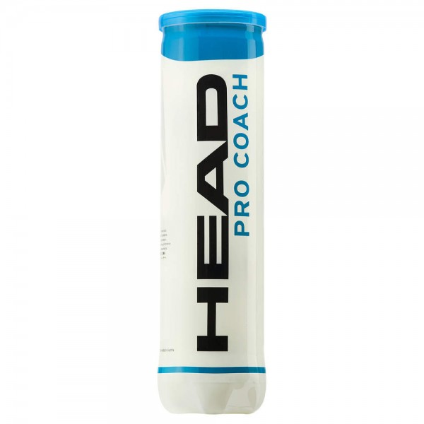 HEAD Pro Coach - 2x 4er Dose - Tennisbälle Trainerbälle