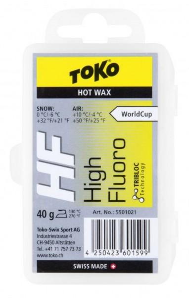TOKO Skiwachs NF / HF Hot Wax 40g