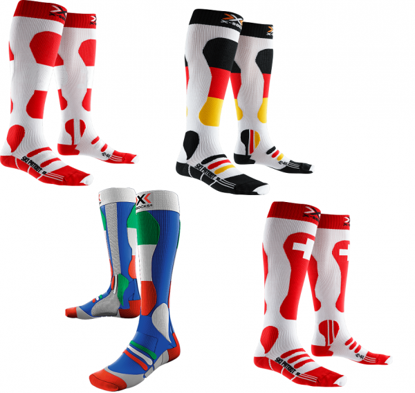 X-Bionic X-Socks Ski Energizer® Patriot Edition Skisocken - 1 Paar