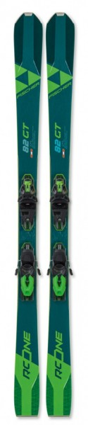 Fischer RC ONE 82 GT (2019/20) + RSW 11 PR - High Performance Ski