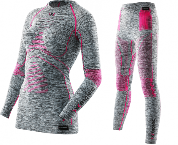 X-Bionic Energy Accumulator® EVO Melange Damen Shirt oder Pants Long