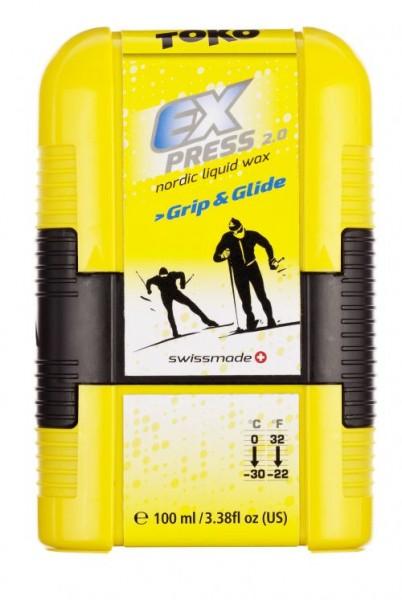 Toko Express 2.0 Grip&Glide Pocket - Universal Flüssigwax 100ml