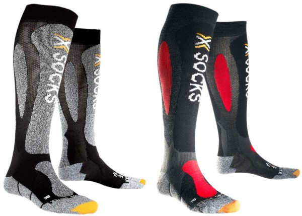 X-Bionic X-Socks Ski Carving Silver - Skisocken - 1 PAAR