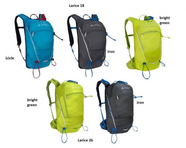 Vaude Larice 18 oder 26 - Skitourenrucksack (kompatibel mit OSRAM-Light me up Kit)