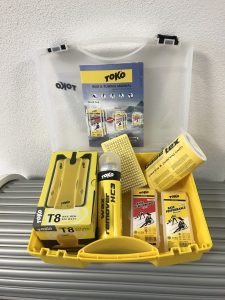 TOKO Wachskoffer - Starter Wax Set