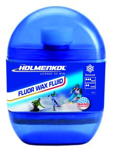 Holmenkol FLUOR WAX FLUID - Skiwachs 75ml (29,27€/100ml)