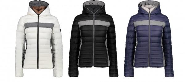 CMP Woman Fix Hood Jacket - Damen Daunenjacke