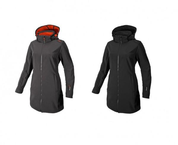 CMP Woman Coat Zip Hood - Damen Softshellmantel