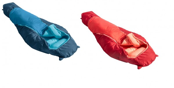 Vaude ALPLI Adjust 400 SYN - Längenverstellbarer Kinderschlafsack