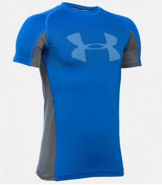 Under Armour Jungen kurzärmliges Sport T-Shirt Trainingsshirt
