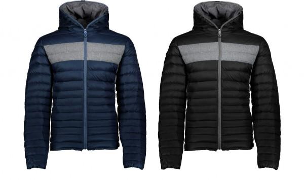 CMP Man Fix Hood Jacket - Herren Daunenjacke