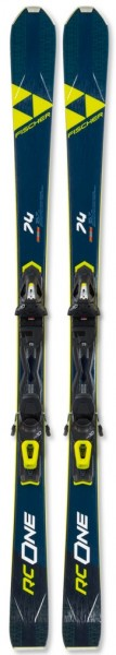 Fischer RC ONE 74 AR (2019/20) + RS 10 PR - High Performance Ski