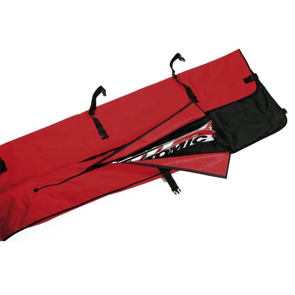 Leki Skisack mit Fächern für 3 Paar Alpinski - Wrap Bag - Skicase Skibag