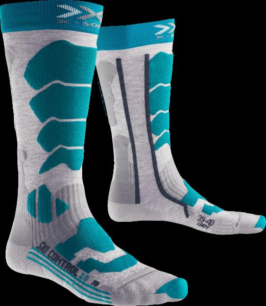 X-Bionic X-Socks SKI CONTROL 2.0 LADY - Skisocken für Damen - 1 Paar