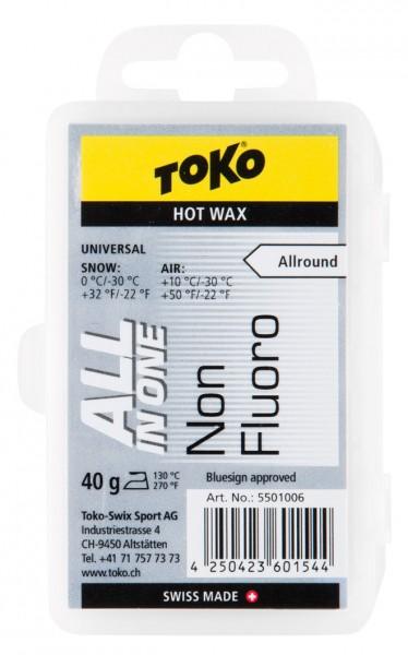 TOKO Skiwachs All-in-one 40g Hot Wax (Grundpreis:17,38€/100g)