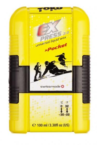 Toko Express 2.0 Pocket - Universal Flüssigwax 100ml
