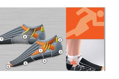 X-Socks BIKING ULTRA LIGHT - Fahrradsocken - 3 PAAR