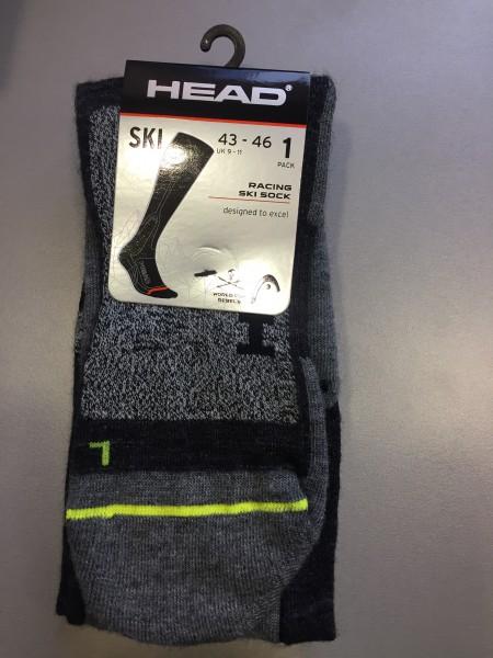 Head Racing Ski Socks - 1 Paar Herren Skisocken
