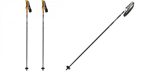 Komperdell CARBON PURE BLACK - Skistöcke Alpin - 1 Paar